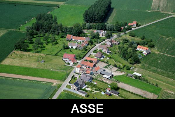 Luchtfoto's Asse